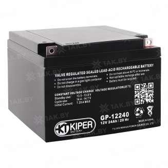 Аккумулятор Kiper (24 Ah) , 12 V 0