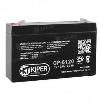 Аккумулятор Kiper (12 Ah) , 6 V 0