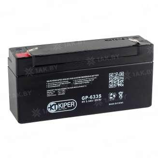 Аккумулятор Kiper (3.3 Ah) , 6 V 0