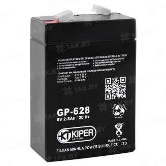 Аккумулятор Kiper (2.8 Ah) , 6 V 0