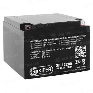 Аккумулятор Kiper (28 Ah) , 12 V 0