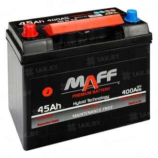 Аккумулятор MAFF (45 Ah) 400 A, 12 V Прямая, L+ 0