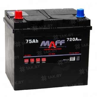 Аккумулятор MAFF (75 Ah) 720 A, 12 V Прямая, L+ 0