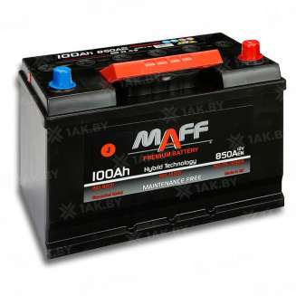 Аккумулятор MAFF (100 Ah) 850 A, 12 V Обратная, R+ 0