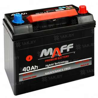 Аккумулятор MAFF (40 Ah) 330 A, 12 V Обратная, R+ 0