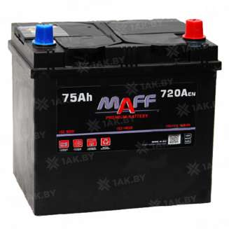 Аккумулятор MAFF (75 Ah) 720 A, 12 V Обратная, R+ 0