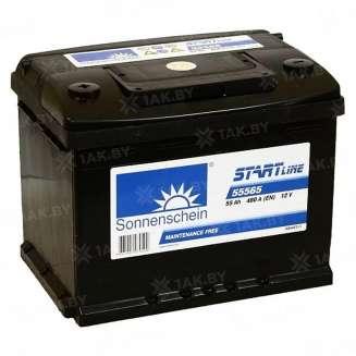 Аккумулятор SONNENSCHEIN (55 Ah) 480 A, 12 V Прямая, L+ 0