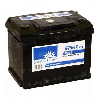 Аккумулятор SONNENSCHEIN (60 Ah) 460 A, 12 V Обратная, R+ 0
