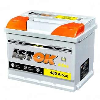 Аккумулятор ISTOK (62 Ah) 480 A, 12 V Прямая, L+ 0