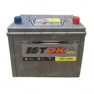 Аккумулятор ISTOK (45 Ah) 320 A, 12 V Обратная, R+ 0