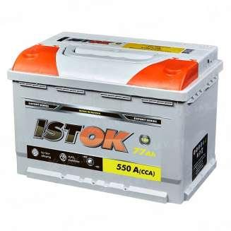 Аккумулятор ISTOK (77 Ah) 550 A, 12 V Прямая, L+ 0