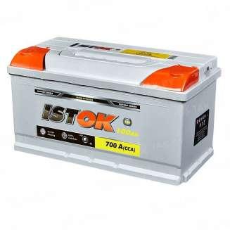 Аккумулятор ISTOK (100 Ah) 700 A, 12 V Прямая, L+ 0