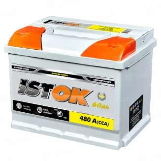 Аккумулятор ISTOK (60 Ah) 480 A, 12 V Обратная, R+ 0