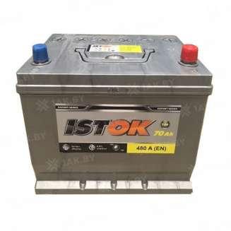 Аккумулятор ISTOK (70 Ah) 480 A, 12 V Обратная, R+ 0