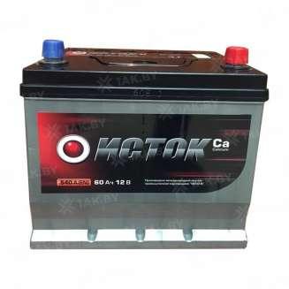 Аккумулятор ISTOK (60 Ah) 540 A, 12 V Обратная, R+ 0