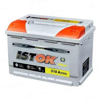 Аккумулятор ISTOK (66 Ah) 510 A, 12 V Обратная, R+ 0