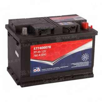 Аккумулятор AD (77 Ah) 780 A, 12 V Обратная, R+ 0