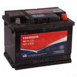 Аккумулятор AD (56 Ah) 480 A, 12 V Обратная, R+ 0