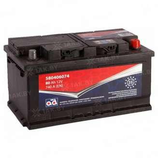Аккумулятор AD (80 Ah) 740 A, 12 V Обратная, R+ 0