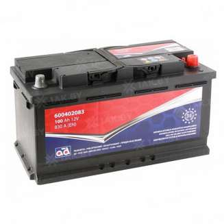 Аккумулятор 555 (100 Ah) 830 A, 12 V Обратная, R+ 0