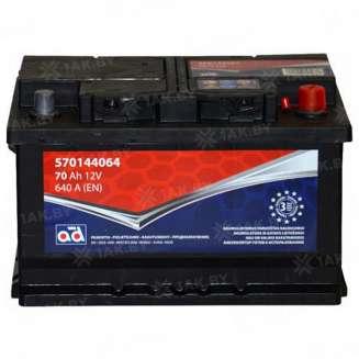 Аккумулятор AD (70 Ah) 640 A, 12 V Обратная, R+ 0