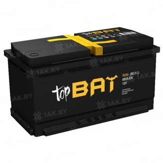 Аккумулятор TopBat (90 Ah) 680 A, 12 V Обратная, R+ 0
