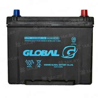 Аккумулятор GLOBAL (75 Ah) 680 A, 12 V Обратная, R+ 0