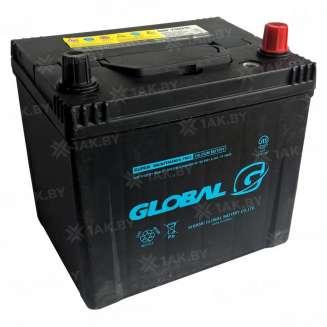 Аккумулятор GLOBAL (65 Ah) 660 A, 12 V Обратная, R+ 0