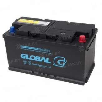 Аккумулятор GLOBAL (100 Ah) 850 A, 12 V Обратная, R+ 0