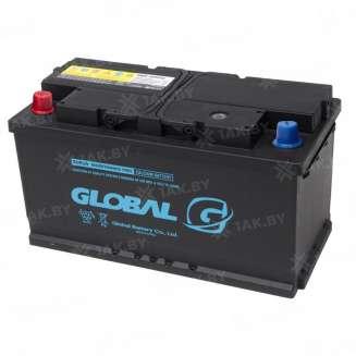 Аккумулятор GLOBAL (100 Ah) 850 A, 12 V Прямая, L+ 0