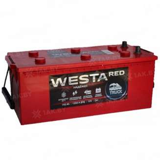 Аккумулятор WESTA (192 Ah) 1350 A, 12 V Обратная, R+ 0