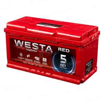 Аккумулятор WESTA (100 Ah) 910 A, 12 V Прямая, L+ 0