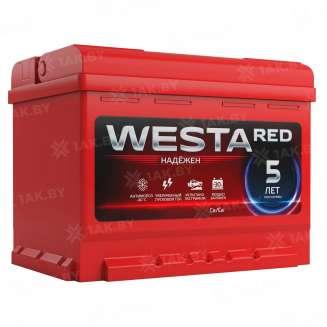 Аккумулятор WESTA (63 Ah) 650 A, 12 V Прямая, L+ 0