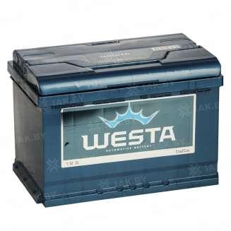 Аккумулятор WESTA (75 Ah) 700 A, 12 V Обратная, R+ 0