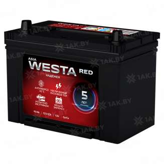 Аккумулятор WESTA (90 Ah) 720 A, 12 V Прямая, L+ 0