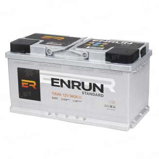 Аккумулятор ENRUN (100 Ah) 940 A, 12 V Обратная, R+ 0