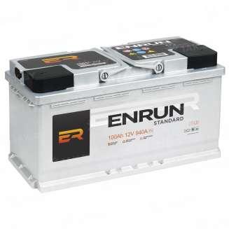 Аккумулятор ENRUN (100 Ah) 940 A, 12 V Обратная, R+ 1