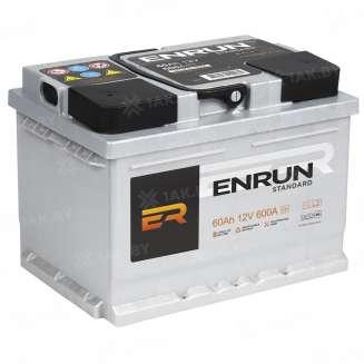 Аккумулятор ENRUN (60 Ah) 590 A, 12 V Обратная, R+ 1