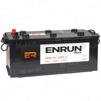 Аккумулятор ENRUN (190 Ah) 1200 A, 12 V Обратная, R+ 1