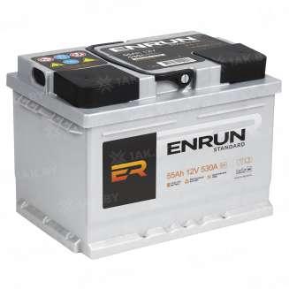 Аккумулятор ENRUN (55 Ah) 510 A, 12 V Обратная, R+ 0
