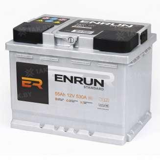 Аккумулятор ENRUN (55 Ah) 510 A, 12 V Обратная, R+ 1