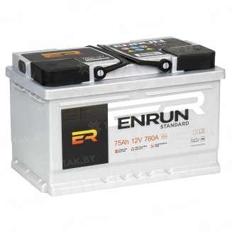 Аккумулятор ENRUN (75 Ah) 720 A, 12 V Обратная, R+ 0