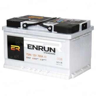 Аккумулятор ENRUN (75 Ah) 720 A, 12 V Обратная, R+ 1