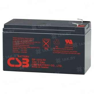 Аккумулятор CSB (7.2 Ah) , 12 V 0