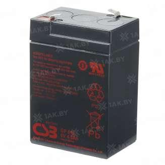 Аккумулятор CSB (4.5 Ah) , 6 V 0