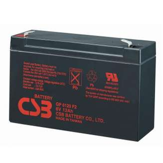 Аккумулятор CSB (12 Ah) , 6 V 0