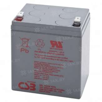Аккумулятор CSB (5 Ah) , 12 V 0
