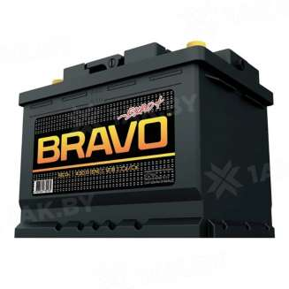 Аккумулятор BRAVO (55 Ah) 430 A, 12 V Прямая, L+ 0