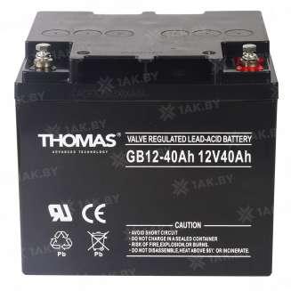 Аккумулятор THOMAS (40 Ah) , 12 V 0