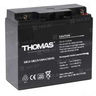 Аккумулятор THOMAS (18 Ah) , 12 V 0